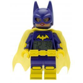 LEGO® Watch & Clock LEGO® BATMAN MOVIE Batgirl - hodiny s budíkom