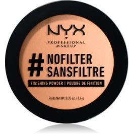 NYX Professional Makeup #Nofilter Finishing Powder púder odtieň 05 Light Beige 9,6 g