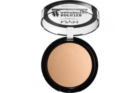 NYX Professional Makeup #Nofilter Finishing Powder púder odtieň 08 Honey Beige 9,6 g